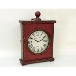 HODINY Kovové stolní hodiny The new era  54x35cm