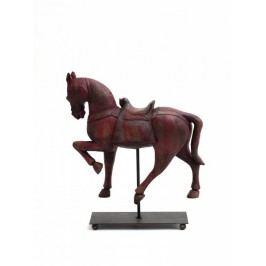 Koník na stojánku červený 37x10,5x39,5cm