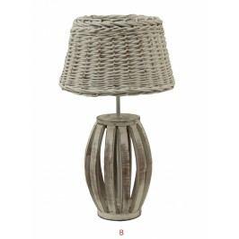 Lampa z proutí Provedení: B