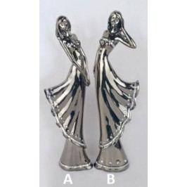 Panna stříbrná keramika Provedení: A