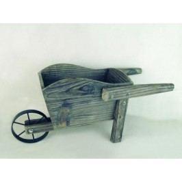 Dřevěný trakař hnědý Provedení: B