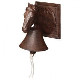 ESSCHERT DESIGN ZVON s koněm 18,5x16,6cm