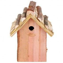 Dřevěná budka antik 18,2x15,6x27cm