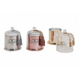 Aromatická svíčka se skleněným poklopem 17x13cm Barva: měděná