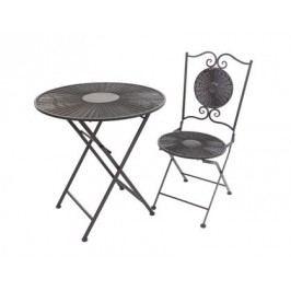 Židle garden kov 40x93cm set 2ks