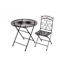 Židle perugia kov 90x38x43cm Set 2ks