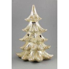 LED Strom champagne keramika 22x14x32cm