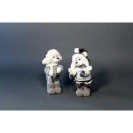 Medvěd šedý 18x15x36cm Provedení: Holka