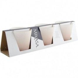 Creative Tops Skleničky na svíčku světle růžové 3x7,5x8cm