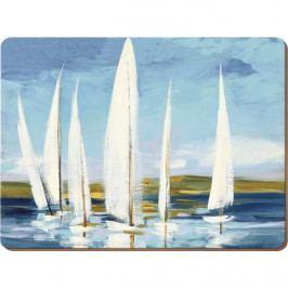 Creative Tops Korkové prostírání Sailing Boats Rozměry: 29x40cm - 4ks