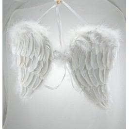 Andělská křídla peří 41x41cm