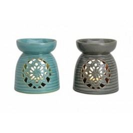 Aroma lampa keramika 18x16cm Barva: modrá