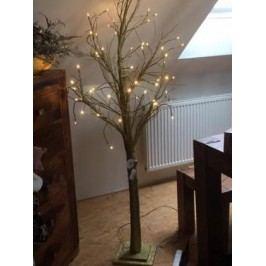 Strom LED zlatý svítící Rozměry: 125cm
