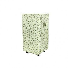 Kazeto Krabicová skříň na ozdoby Barva: bílá, Provedení: S kolečkama