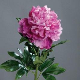 Umělá květina pivoňka 76cm Barva: tmavě růžová