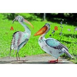Pták Jerry lakované železo 65cm Provedení: B