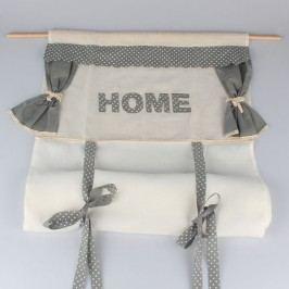 Záclona stahovací HOME s puntíky