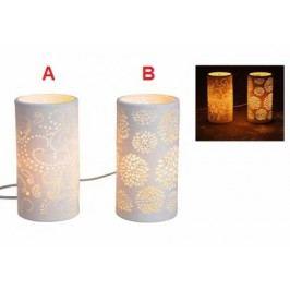 Lampa porcelán 20x10cm Provedení: A