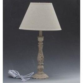 Stolní lampa béžová 54cm