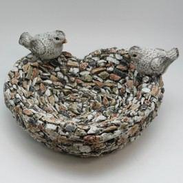 Krmítko dekorační kamínky magnesium