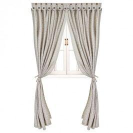 Textilní závěs Fresco šedý