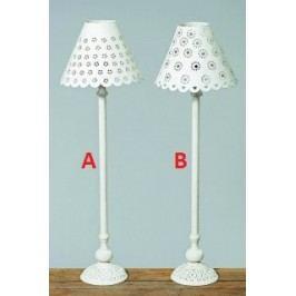 Stolní lampa bílá 59cm Provedení: A