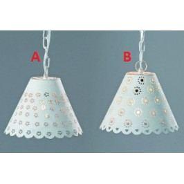 Závěsná lampa bílá Provedení: A