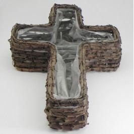 Kříž obal réva hnědá
