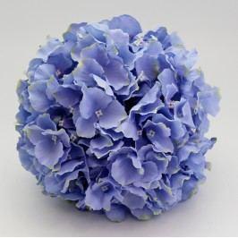 Umělá hortenzie koule modrá Velikost: velká