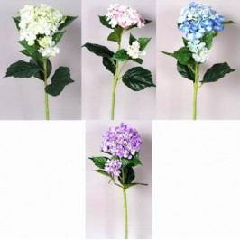 Umělá květina hortenzie 4ks 78cm