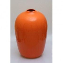 Keramická váza 37x25cm Barva: oranžová