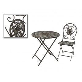 Židle kov Troia 93x40x49cm set 2ks