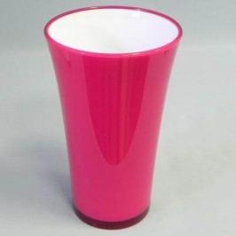 Plastová váza Fizzy 45cm Barva: růžová