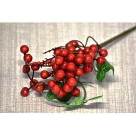 Harasim Umělá větvička s červenými plody 12ks