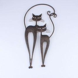 Dekorace na zeď kočka černá Provedení: C