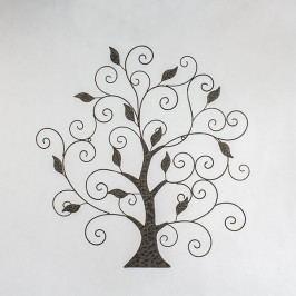 Dekorace na zeď strom s lístky