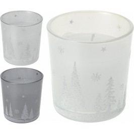 Svíčka ve vánočním skle 3ks