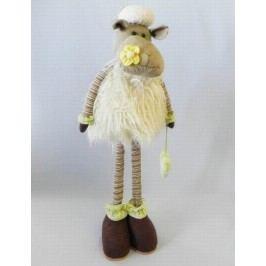 Ovečka stojící textilní