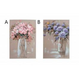 Obraz Květiny ve váze 70x100x4cm S motivem: A
