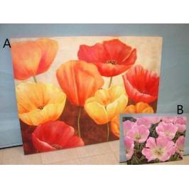 Obraz Flowers 122x4x91cm S motivem: A