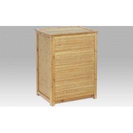 Autronic Koš na prádlo bambusový s látkovou vložkou AUDR-030