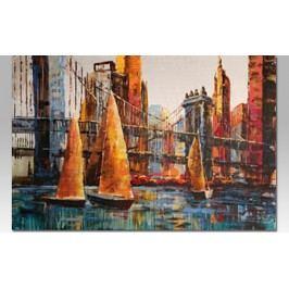 Obraz na plátně | olejomalba | ručně malovaný | New York