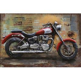 Obraz ručně malovaný | kovový | motocykl