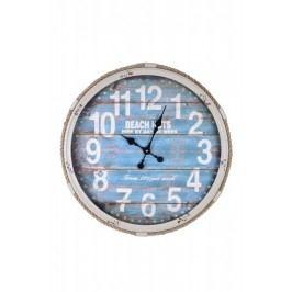 Ego Dekor Nástěnné hodiny   modré   s provazem ED616352