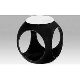 Artium Taburet plastový 41x41x49cm Barva: černá