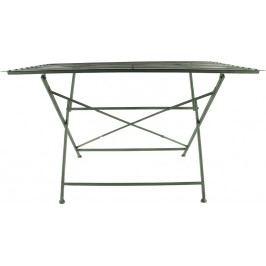 Harasim Skládací kovový stůl, zelený