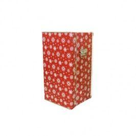 Kazeto Krabicová skříň | vánoční | 38x35x68cm Barva: červená KZ3309415-0038-0550