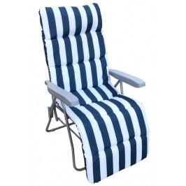 Rhodos, bílo-modré, polohovatelné
