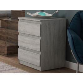 Carlos 403S, šedý beton