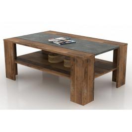 Pico,  tmavý beton/vintage optika dřeva